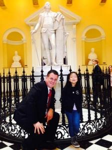 Photo with Olivia Kim